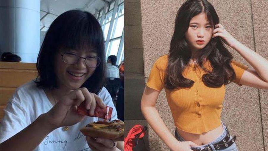 Nữ sinh 2003 'lột xác cực mạnh' xinh như gái Hàn Quốc sau khi bị bạn bè chê béo và quê mùa