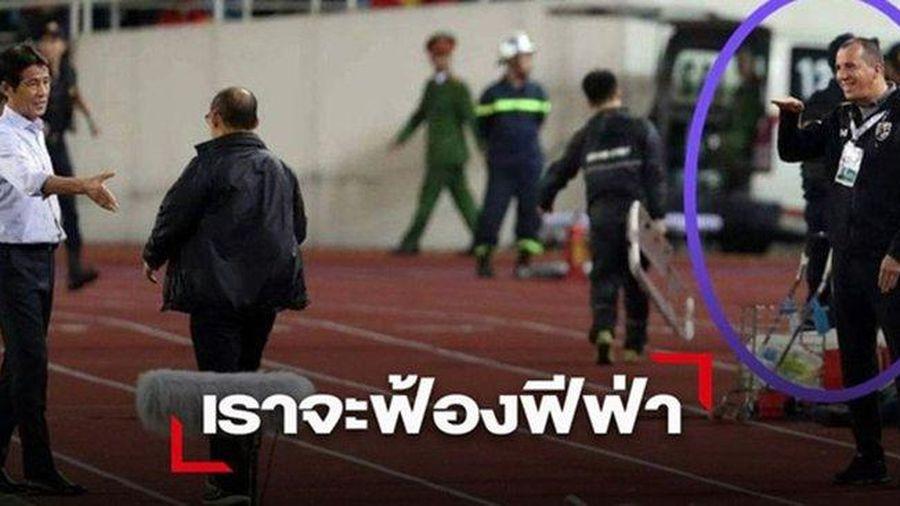 HLV Park nói sự xấu xí trợ lý Thái Lan lên báo Hàn: Họ cười nhạo tôi!