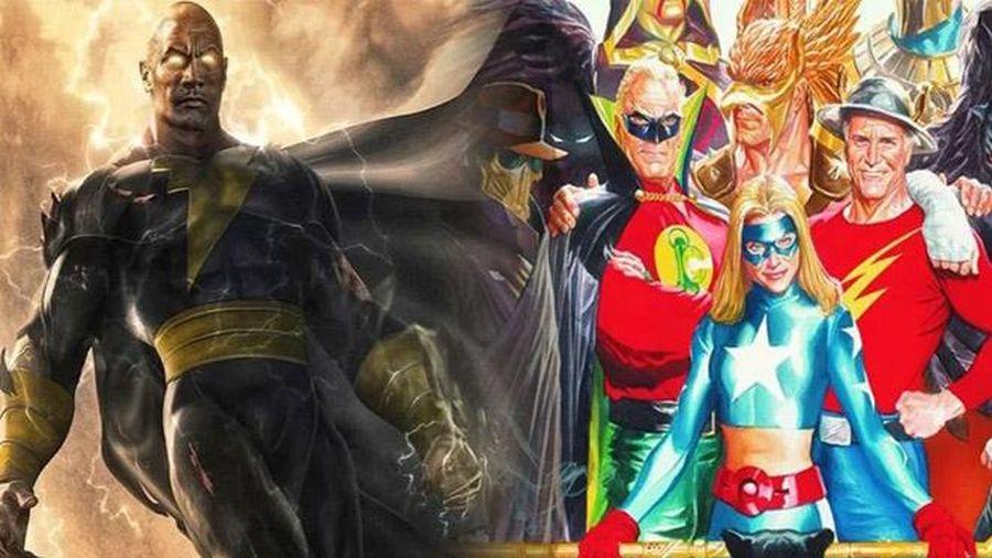 Black Adam sẽ lần đầu giới thiệu đến khán giả Justice Society