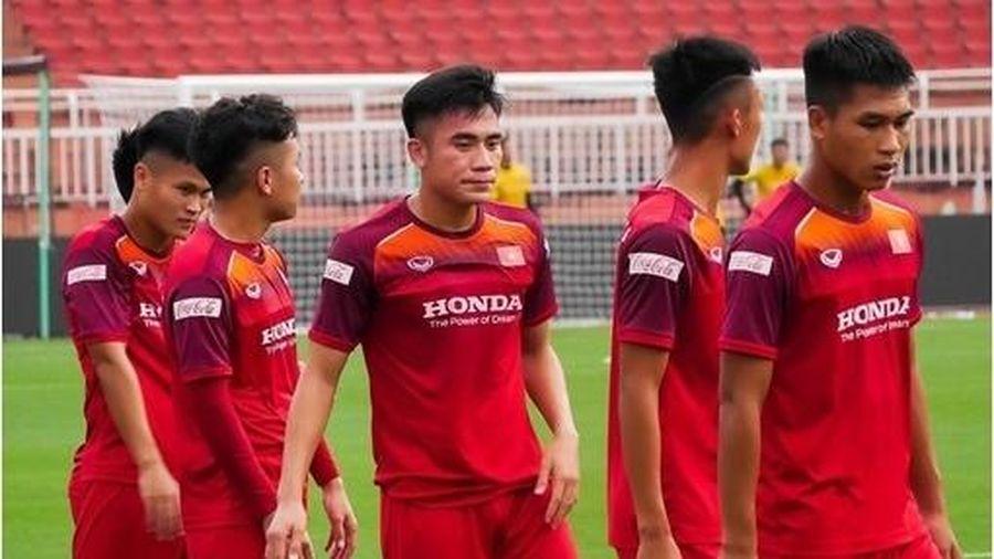 Chốt số áo U22 Việt Nam tại SEA Games 30: Nhiều bất ngờ