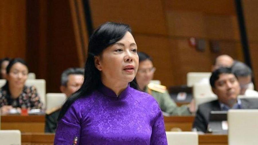Quốc hội bỏ phiếu kín phê chuẩn miễn nhiệm Bộ trưởng Bộ Y tế