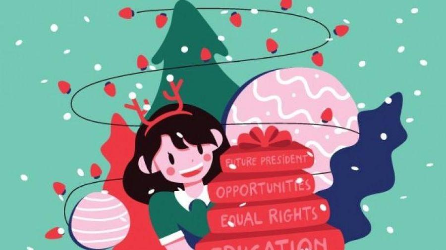 Giúp đỡ trẻ em gái tiếp cận giáo dục thông qua chiến dịch 'Tất cả những gì bé gái muốn'