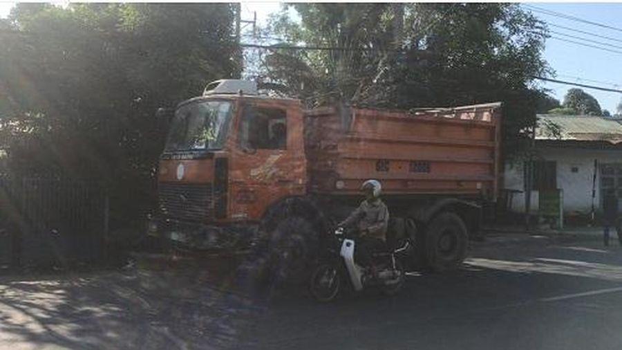 Bình Dương: Va chạm với xe ben, 1 người tử vong