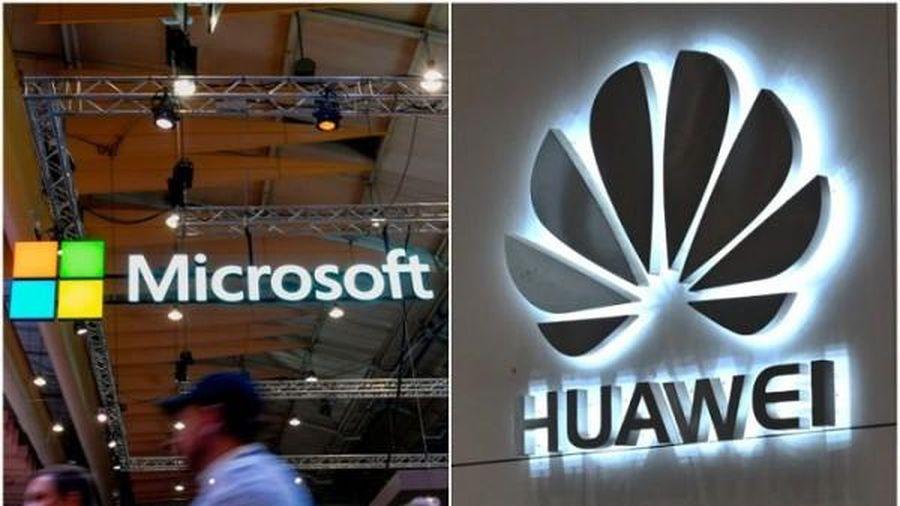 Mỹ bất ngờ cho phép Microsoft bán phần mềm cho Huawei