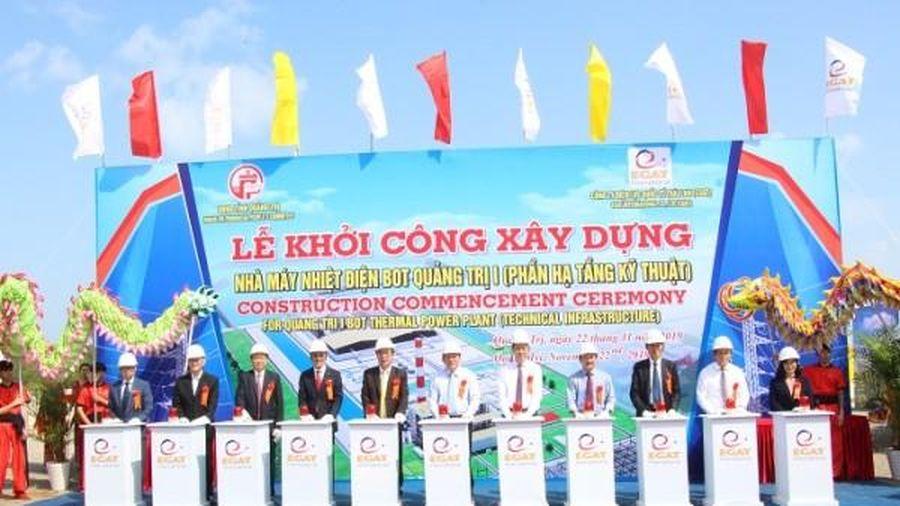 Điện lực Thái Lan khởi công nhà máy nhiệt điện 55.000 tỷ đồng tại Quảng Trị