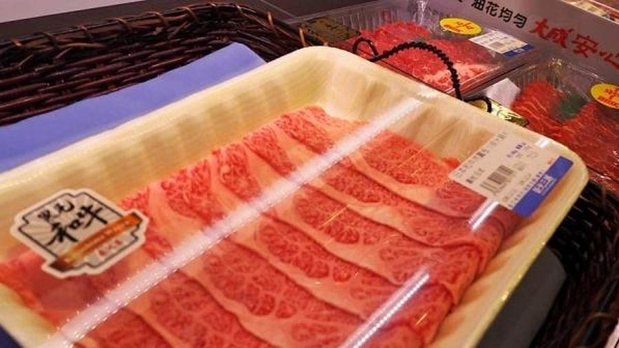 Thịt bò Wagyu Nhật Bản có cơ hội trở lại Trung Quốc