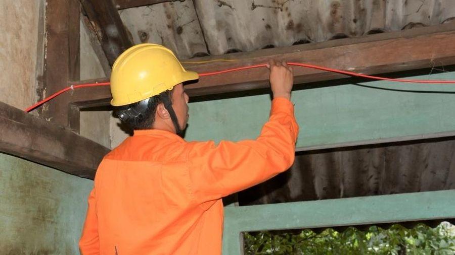 Ngành điện Quảng Trị góp phần tích cực xây dựng nông thôn mới