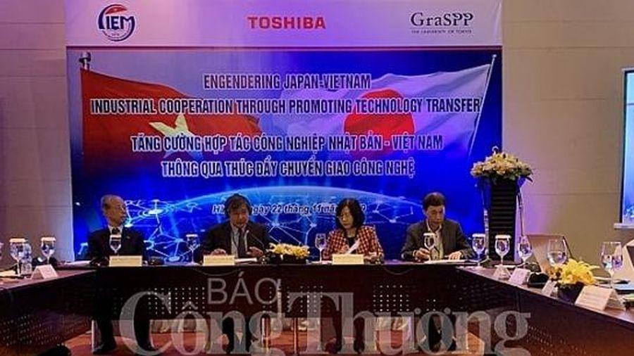 Đưa hợp tác công nghiệp Việt Nam – Nhật Bản vào thực chất