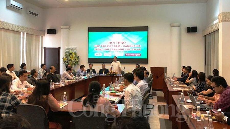 Cơ hội hợp tác Việt Nam - Campuchia trong bối cảnh mới của Asean