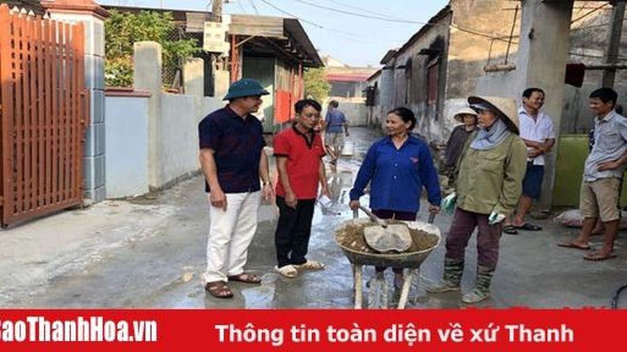 Công tác điều động, luân chuyển cán bộ ở huyện Thiệu Hóa