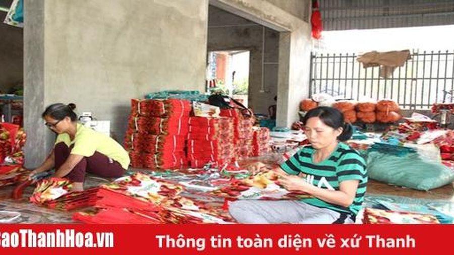 Giá trị sản xuất công nghiệp, tiểu thủ công nghiệp huyện Vĩnh Lộc tăng 21,5% so với cùng kỳ