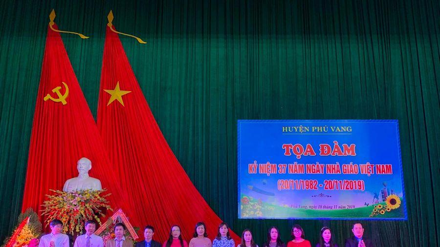 Huyện Phú Vang – Thừa thiên - Huế kỷ niệm ngày Nhà giáo Việt Nam