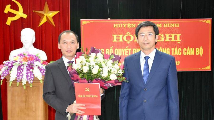 Tuyên Quang: Ông Nguyễn Văn Dưng làm Bí thư Huyện ủy Lâm Bình