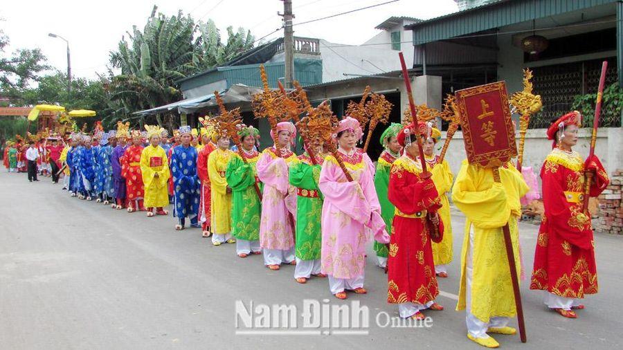 Nam Định: Mỹ Lộc tăng cường quản lý, bảo tồn và phát huy giá trị các di tích