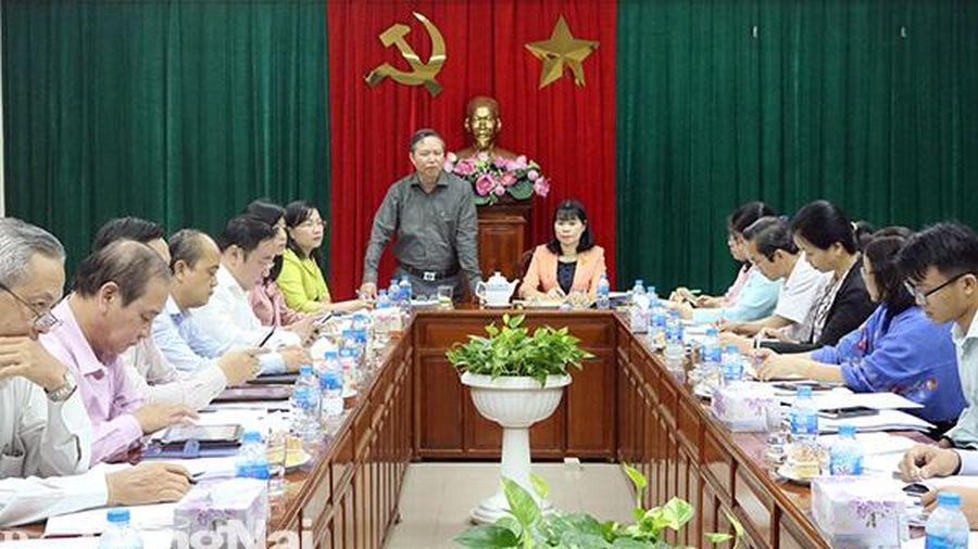 Thẩm tra các báo cáo, tờ trình trên lĩnh vực VH-XH chuẩn bị kỳ họp 13 HĐND tỉnh
