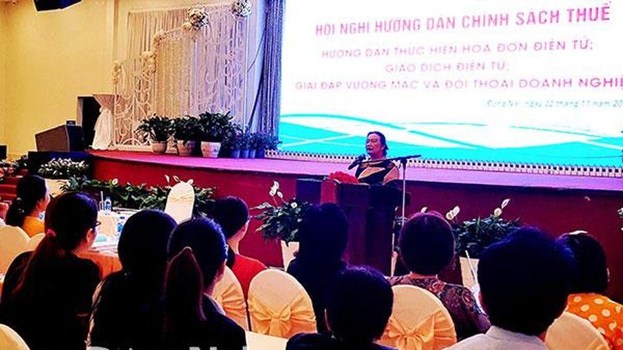 Gần 600 doanh nghiệp tham gia hội nghị thực hiện hóa đơn điện tử