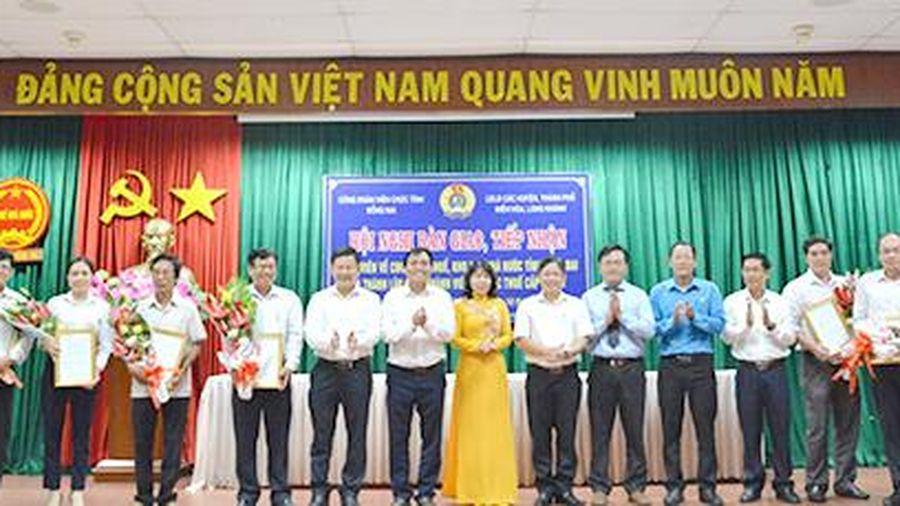 Công đoàn Viên chức tỉnh tiếp nhận 477 đoàn viên mới