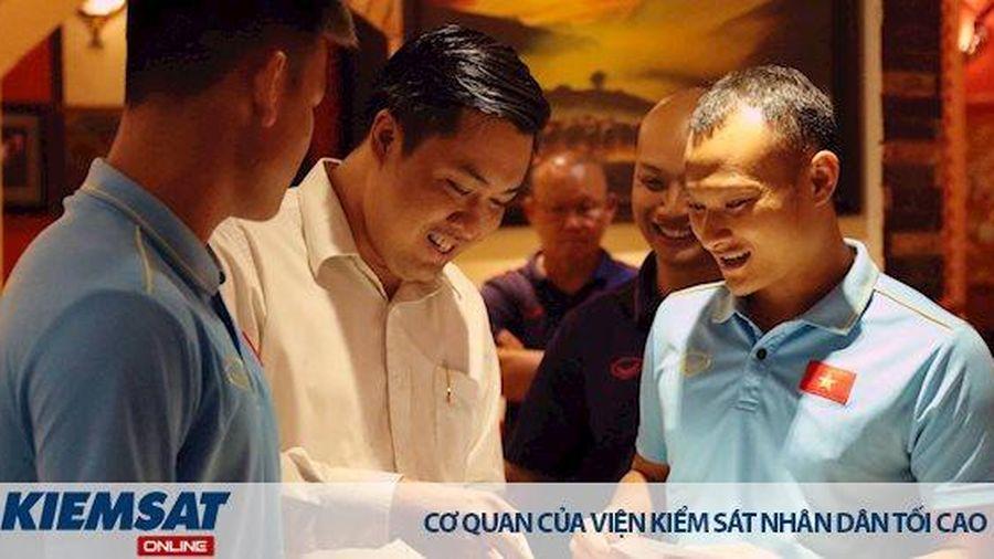 ĐT U22 Việt Nam được động viên, khích lệ tinh thần trước ngày lên đường tham dự SEA Games 30