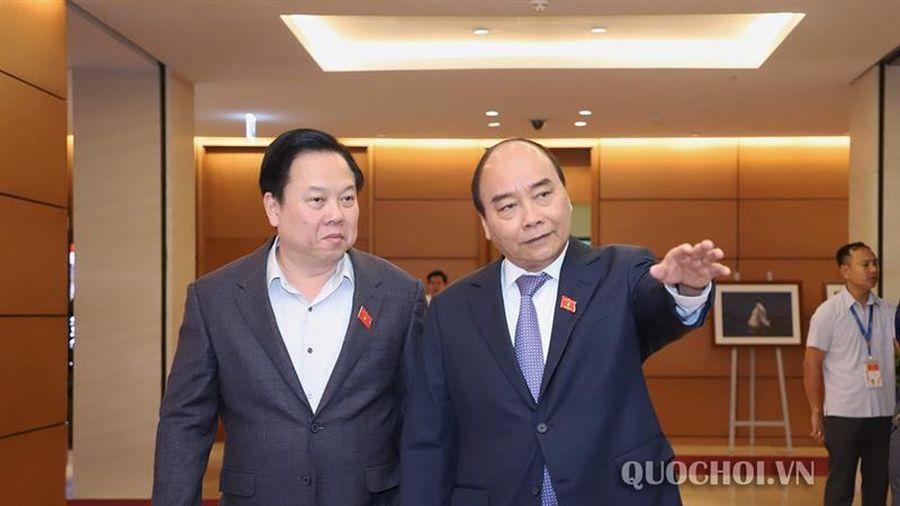 Hình ảnh bên lề phiên họp Sáng ngày 22/11, Kỳ họp thứ 8 Quốc hội khóa xiv