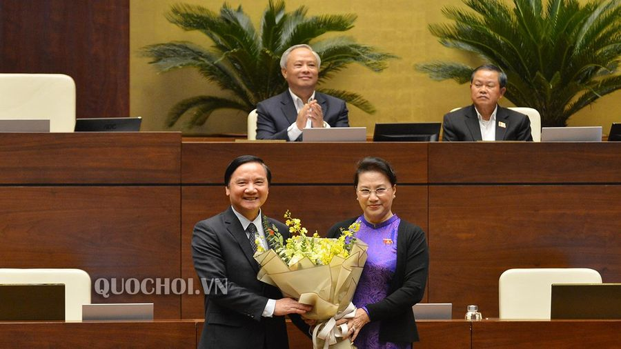 Quốc hội miễn nhiệm Ủy viên Ủy ban Thường vụ Quốc hội, Chủ nhiệm Ủy ban Pháp luật của Quốc hội