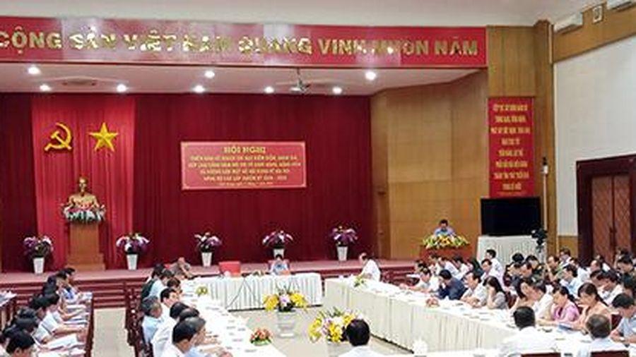 Kiên Giang: Triển khai hướng dẫn đại hội đảng bộ các cấp và kiểm điểm, đánh giá, xếp loại chất lượng tổ chức đảng, đảng viên