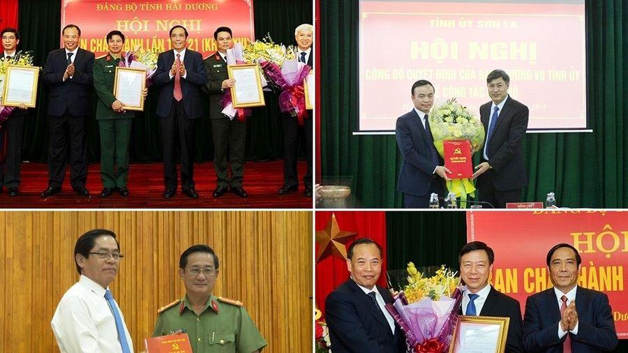 Nhân sự, lãnh đạo mới Tỉnh ủy Hải Dương, Tây Ninh, Sơn La