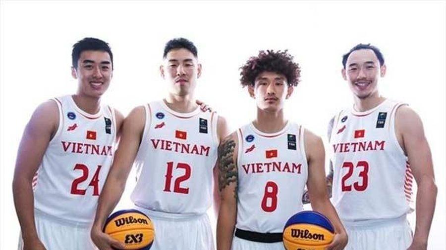 ĐT bóng rổ nam Việt Nam dự SEA Games 30 với hàng loạt cầu thủ Việt kiều
