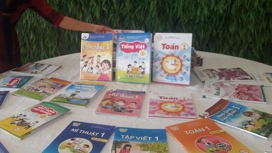 Bộ Giáo dục công bố 32 cuốn sách giáo khoa lớp 1 theo chương trình mới