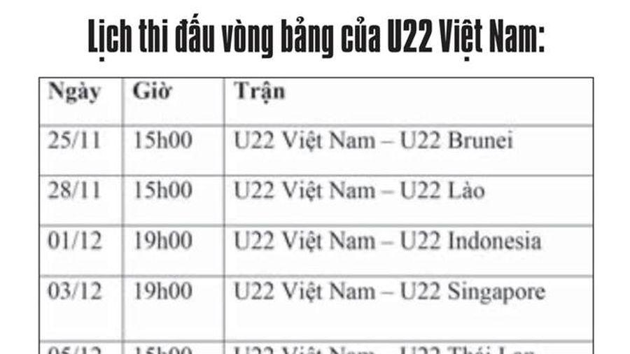 U22 Việt Nam: Cần làm gì để vô địch SEA Games?