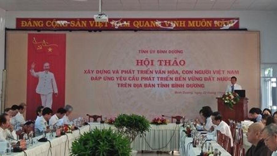 Hội thảo xây dựng và phát triển văn hóa, con người Việt Nam
