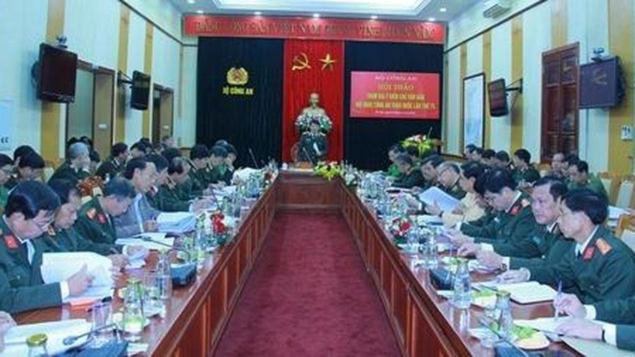Hội thảo tham gia ý kiến vào các văn bản Hội nghị Công an toàn quốc lần thứ 75