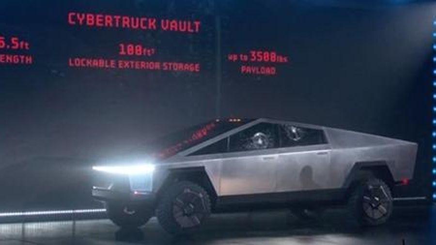 Ra mắt xe bán tải chạy điện có khả năng chống đạn