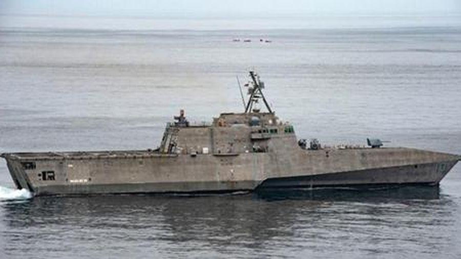 Tàu chiến Mỹ áp sát Hoàng Sa, Trường Sa, thách thức Trung Quốc