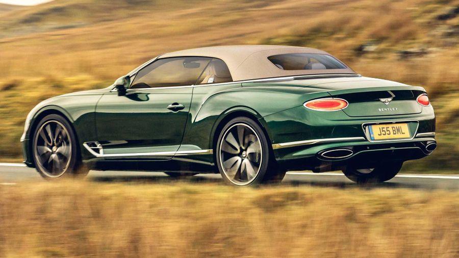 Bentley ra mắt tùy chọn mui vải mới cho Continental GTC