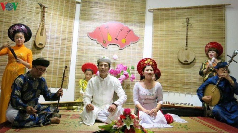 Thừa Thiên Huế lập hồ sơ đề nghị ca Huế là di sản văn hóa thế giới