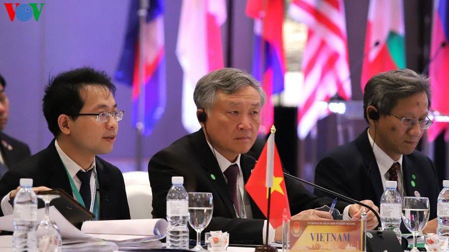 Chánh án Nguyễn Hòa Bình dự Hội nghị Hội đồng Chánh án ASEAN