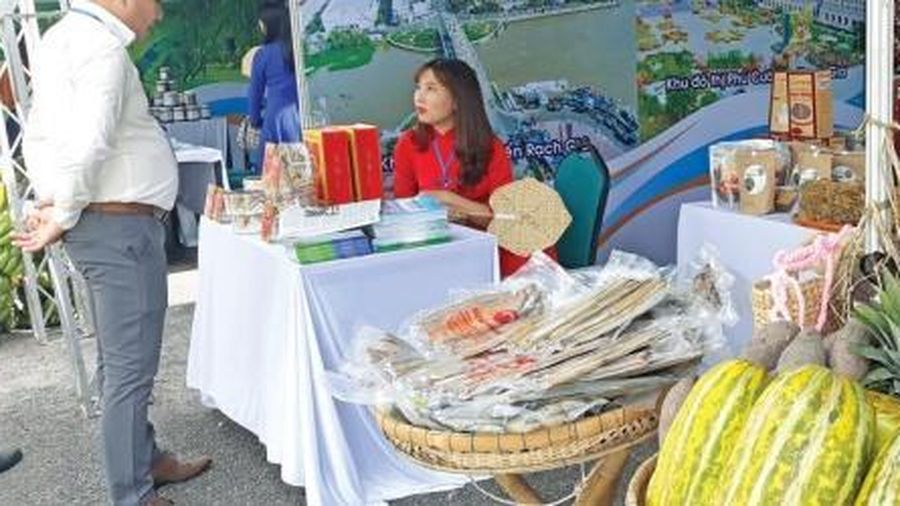 Hội chợ Công nghiệp, thương mại và du lịch Bạc Liêu năm 2019: Gian hàng Kiên Giang hấp dẫn khách