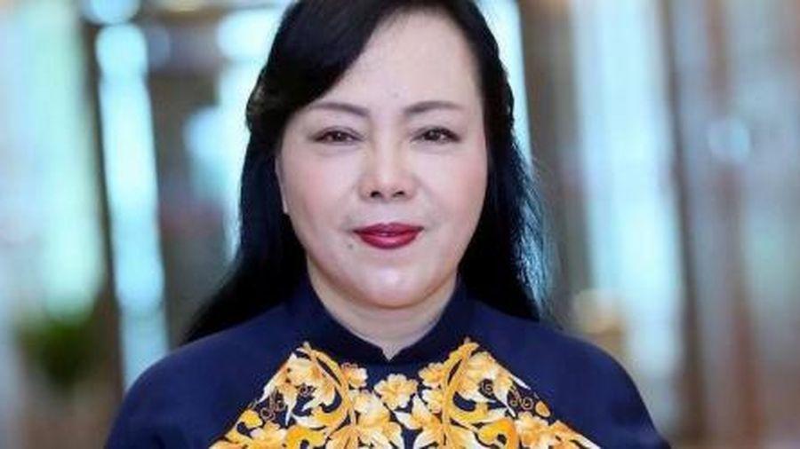 Bà Nguyễn Thị Kim Tiến thôi giữ chức Bộ trưởng Y tế