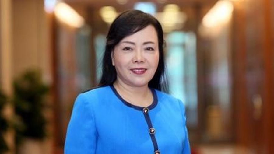 Bỏ phiếu miễn nhiệm Bộ trưởng Y tế Nguyễn Thị Kim Tiến: 424 phiếu Đồng ý, 30 phiếu Không đồng ý