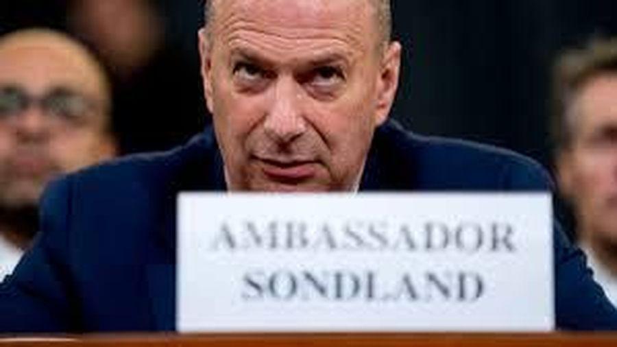 Sau lời chứng của cựu Đại sứ tại EU Sondland: Đảng Cộng hòa sẽ hành động thế nào?