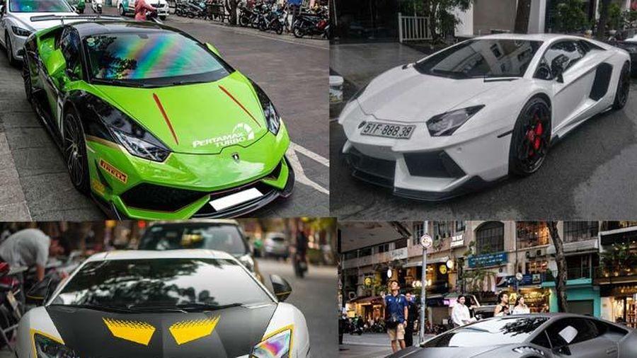 Ngắm loạt siêu xe Lamborghini 'độ' ấn tượng ở Việt Nam