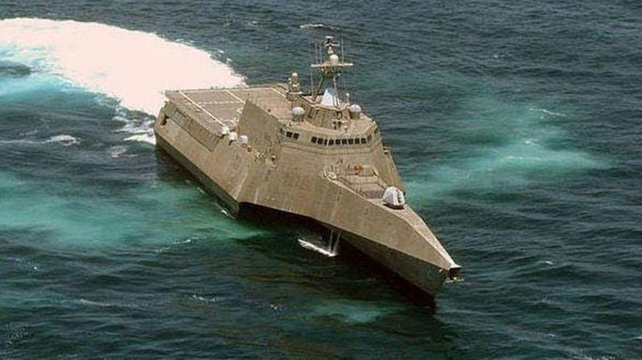 Trung Quốc lớn tiếng nói điều tàu xua đuổi chiến hạm Mỹ tiến vào Biển Đông