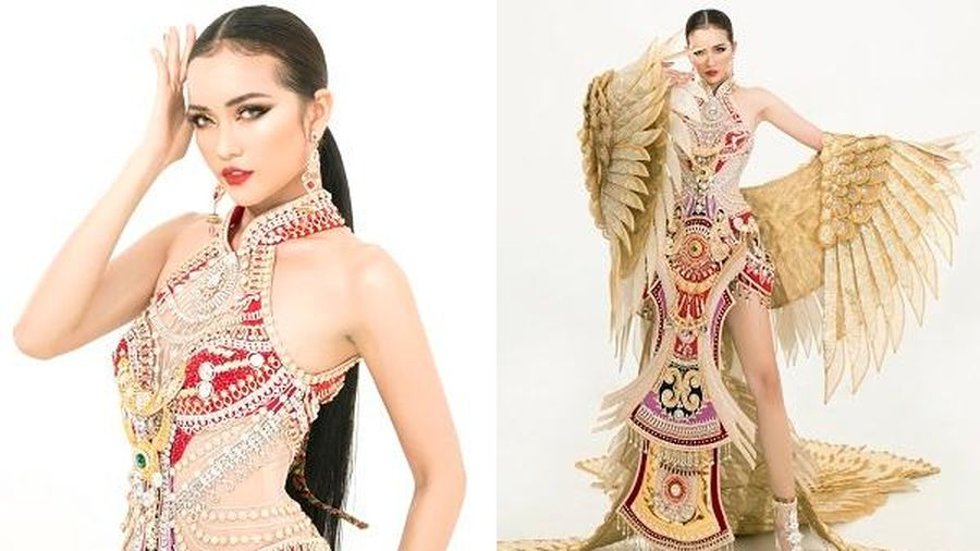 Hé lộ trang phục dân tộc mới lạ của Ngọc Châu tại 'Hoa hậu Siêu quốc gia 2019'