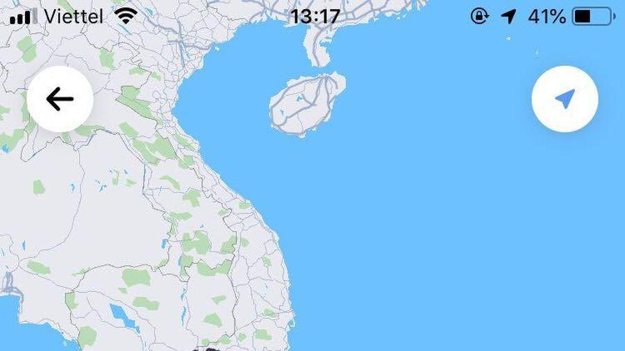Hoàng Sa, Trường Sa biến mất khỏi bản đồ Việt Nam trên ứng dụng Go-Viet