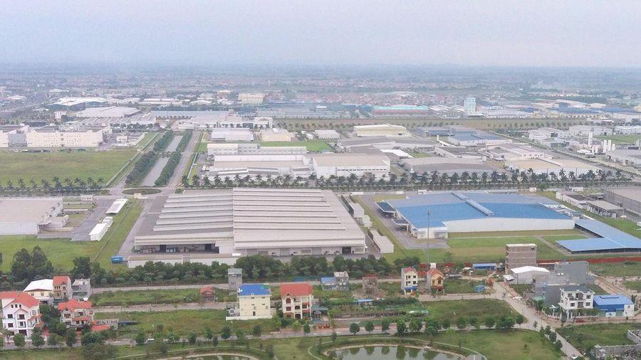 Hà Nội đang gây kinh ngạc khi các khu công nghiệp đã gần kín chỗ
