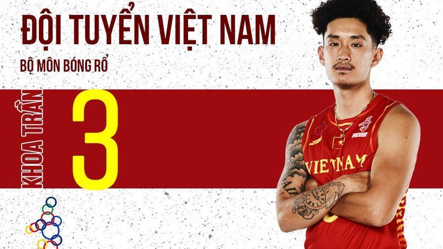 Sao bóng rổ Việt Nam tại SEA Games 30: Trần Đăng Khoa và những điều bạn chưa biết