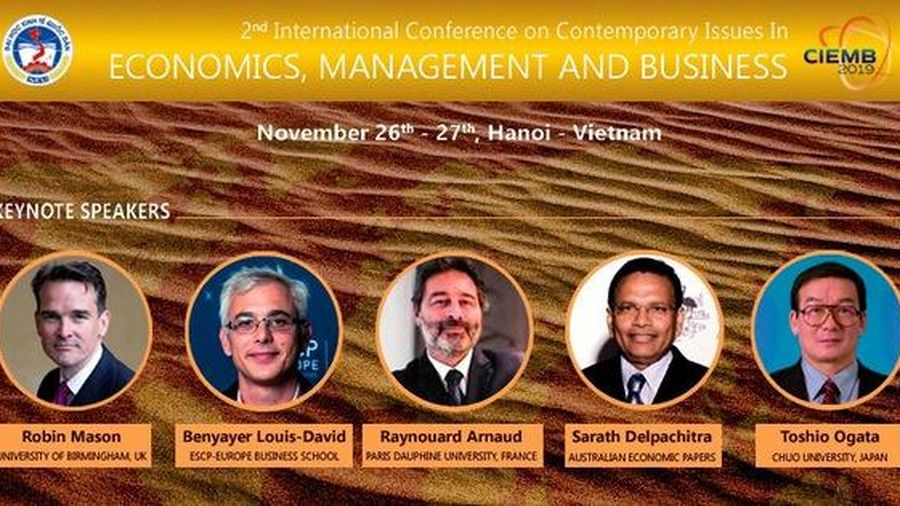 Cơ hội tiếp cận những nghiên cứu mới nhất của 5 chuyên gia kinh tế hàng đầu thế giới