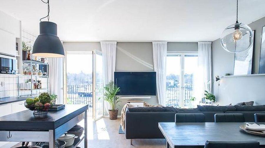 Thỏa sức sáng tạo trong căn hộ rộng 94m² với đồ trang trí chủ đạo là những chiếc đèn độc đáo ít ai ngờ