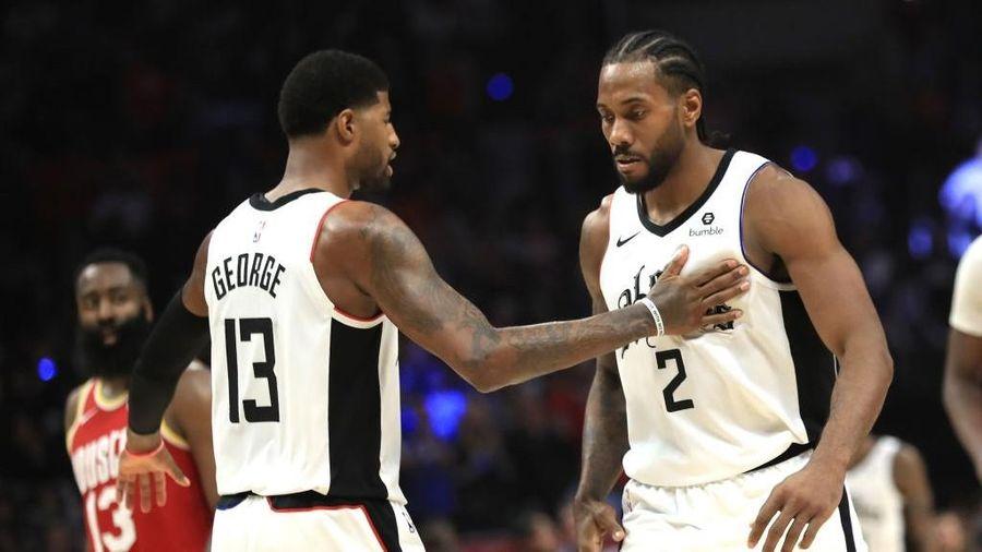 NBA 19-20: Kawhi Leonard tung cú Game-winner lạnh lùng, Los Angeles Clippers kết liễu Houston Rockets ở những giây cuối