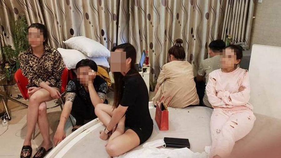 Nhóm 'dân chơi' thuê biệt thự ở TP.Vũng Tàu để sử dụng ma túy tập thể